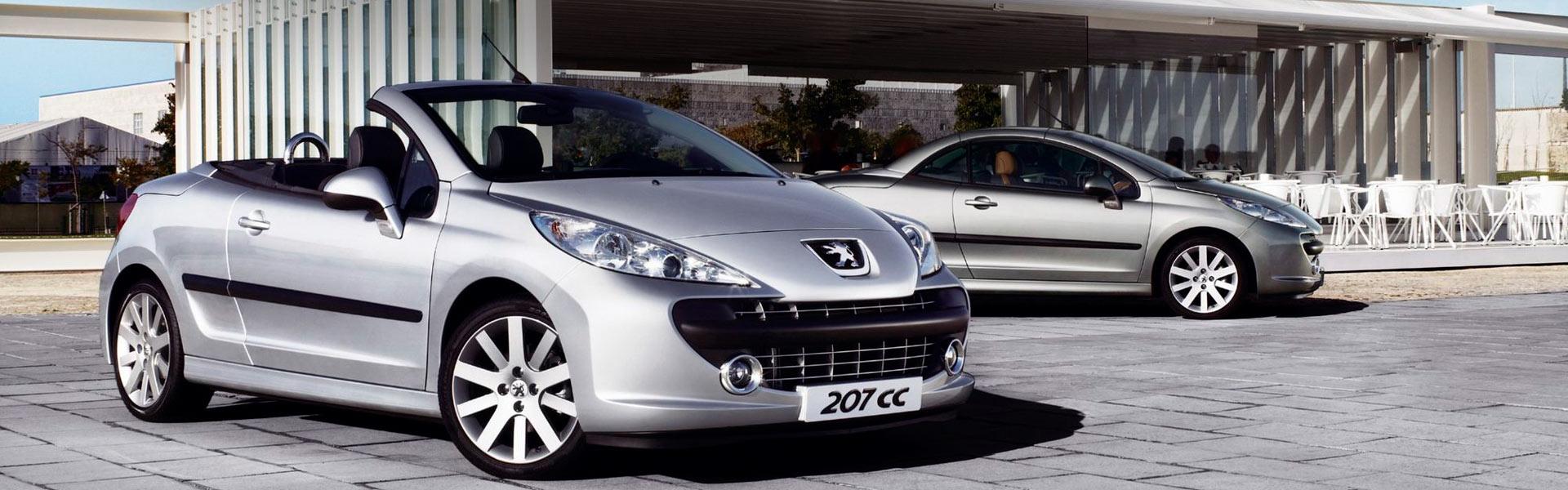 Запчасти на Peugeot 207